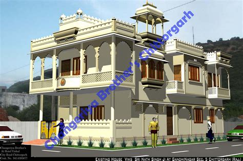rajasthani home design plans mr sri nath singh ji s royal house in rajasthani