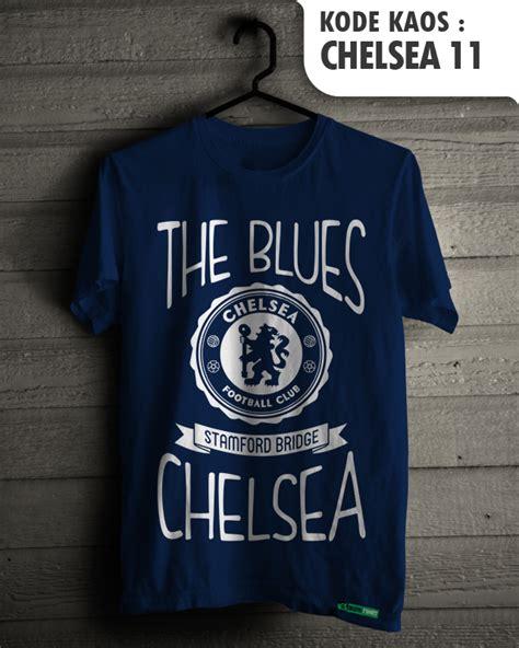 Kaos Club Bola Chelsea jual chelsea fans baju sepakbola kaos distro klub tim