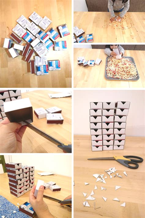 Diy Calendar Diy Advent Calendar Using Matchboxes Packmahome
