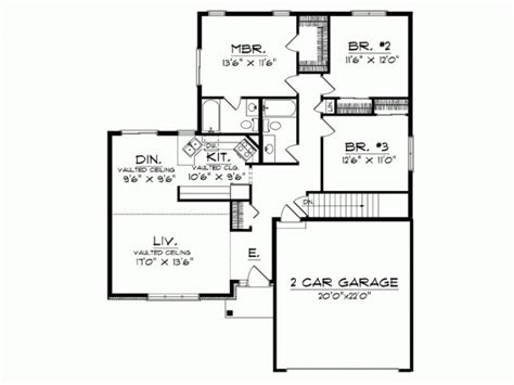 awesome one story house plans awesome 1 story modern house plans new home plans design