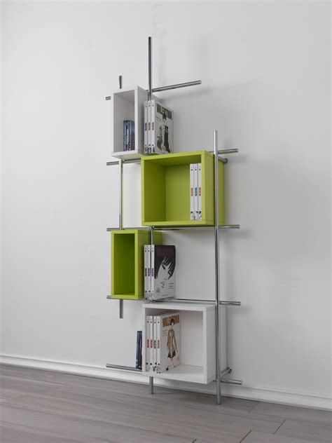 mini libreria mini librerie salvaspazio a parete o in mezzo alla stanza