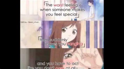 quotes anime romance indonesia sad anime quotes youtube