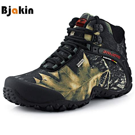 high top climbing shoes bjakin waterproof hiking shoes high top canvas fishing