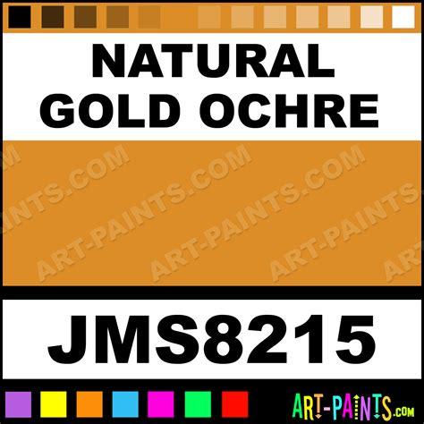 gold ochre signature watercolor paints jms8215 gold ochre paint