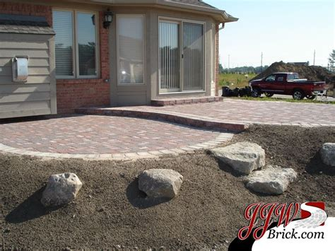 patio slope paver patio on a slope search landscaping