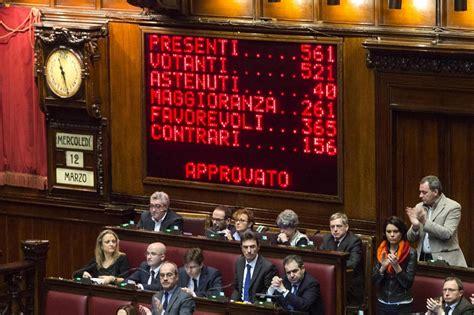 presidente dei deputati attuale matteo renzi l italicum e l inganno senato