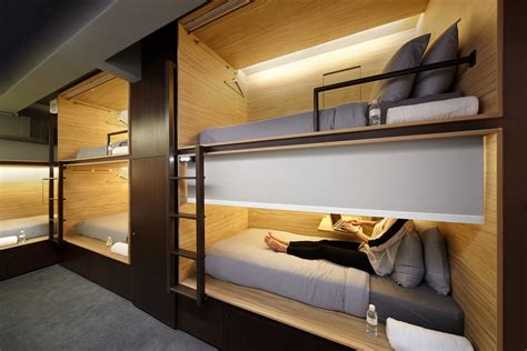 Micro Houses Plans by Boutique Capsule Hotel The Pod Opens In Singapore