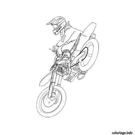 Coloriage Moto Cross Dessin Coloriage Moto Cross Imprimer Gratuitl L