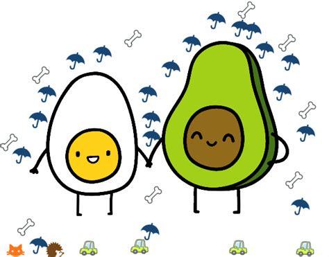 imagenes kawaii de comida para dibujar dibujo de los kawaii pintado por en dibujos net el d 237 a 10