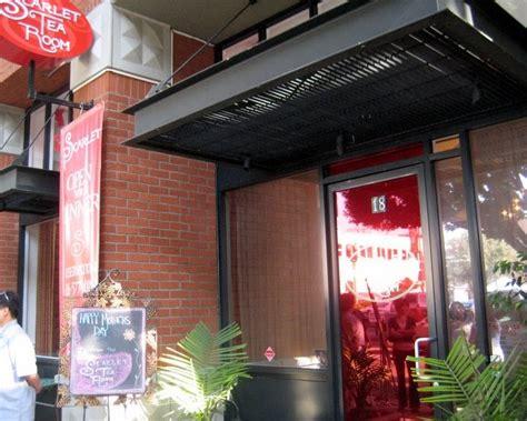 Tea Rooms In Pasadena by Sundays Scarlet Tea Room In Pasadena