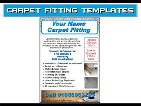 10 Best Images Of Make A Carpet Cleaning Flyer Cleaning Flyers Exles Commercial Carpet Carpet Cleaning Postcards Templates