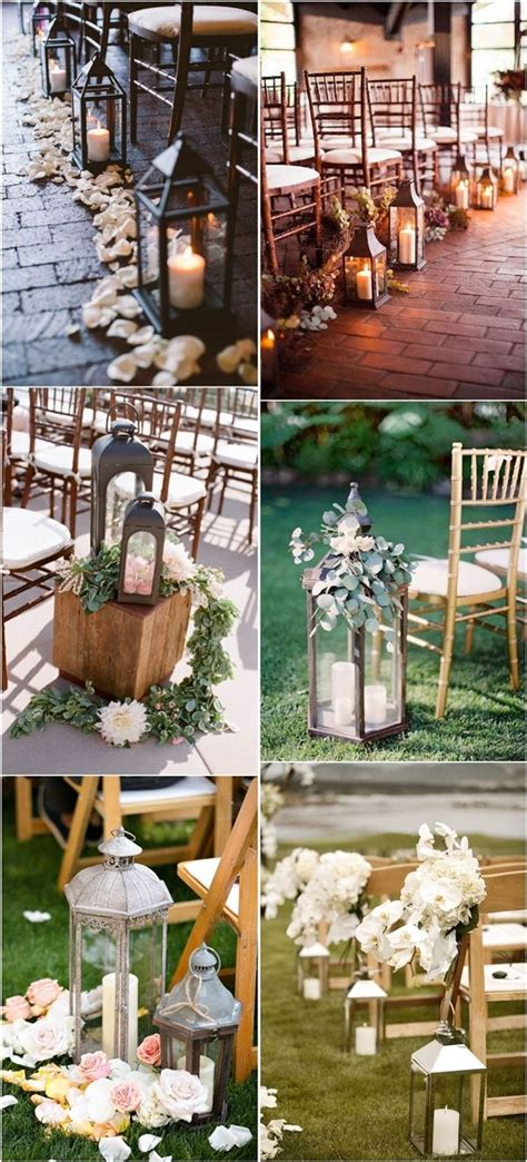 Wedding Aisle Decorations Nz by 27 Creative Lanterns Wedding Aisle Decor Ideas Creative