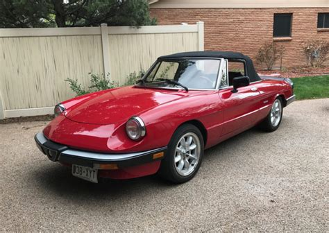 no reserve 1990 alfa romeo spider graduate for sale on