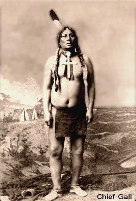 American Indian Shedding by Chief Gall Lakota Hunkpapa Sioux War Chief Known As Matohinsda Shedding His Hair
