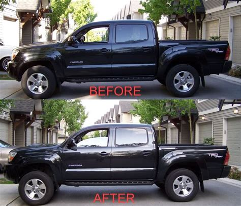 google toyota leveling kit before and after tundra google search