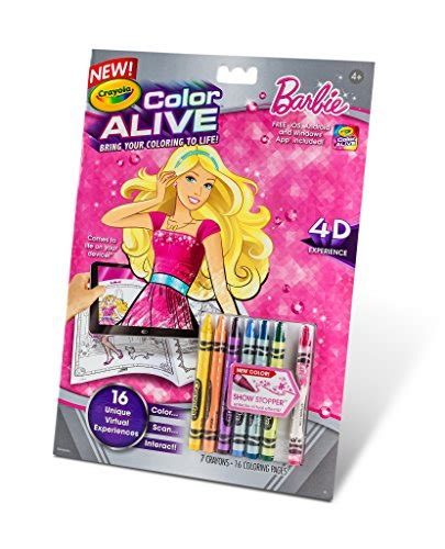crayola coloring pages barbie crayola color alive action coloring pages barbie