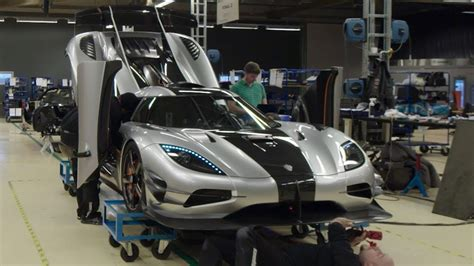koenigsegg inside preparing the 1360hp one 1 for its debut inside