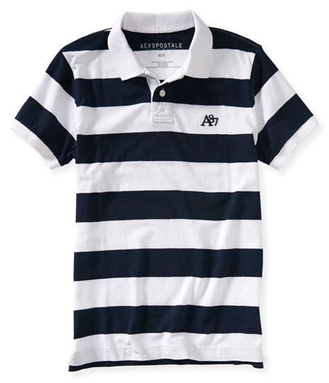 Ae Ropostale Shirts White aeropostale mens striped a87 rugby polo shirt mens