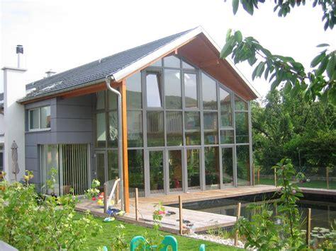 Terrassenüberdachung Aus Holz Mit Glasdach by Holz Alu Wintergarten Lengauer Holzbau 3433