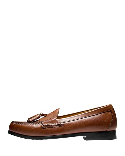 cole haan pinch tassel loafer cole haan pinch grand tassel loafer in brown for lyst