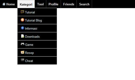 membuat menu navigasi dropdown cara membuat menu navigasi dropdown bergambar blog seno