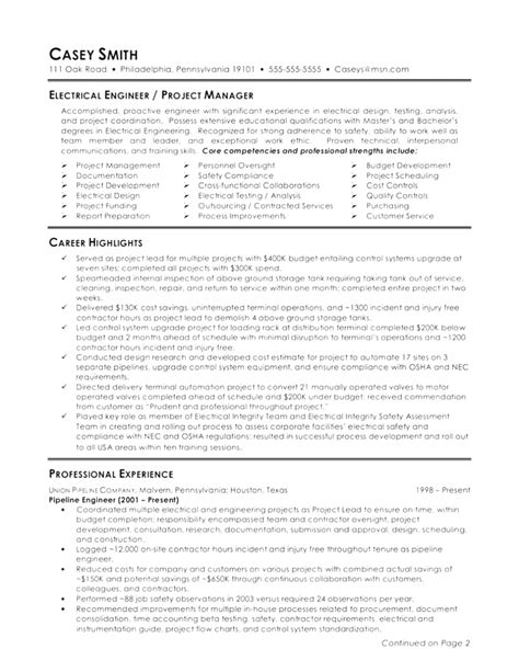 free automation engineer sle resume design automation