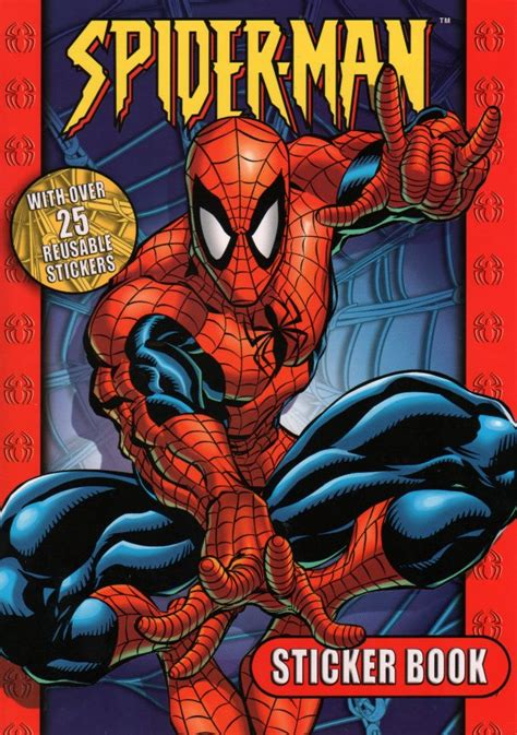 the of the spider books spiderfan org comics spider sticker book alligator