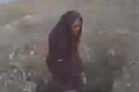 horrific islamic state video claims  show woman