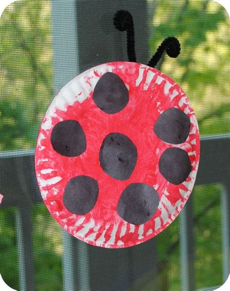 Paper Ladybug Craft - 1000 images about preschool bug week on