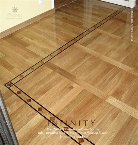 Infinity Wood Floors by No 32 The Infinity Hardwood Floor Border Installation