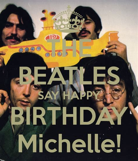 download mp3 the beatles happy birthday the beatles say happy birthday michelle poster jen