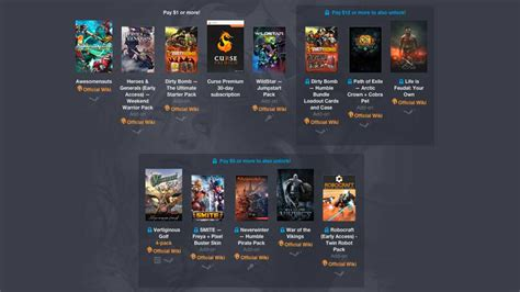 latest humble bundle  stocked  content packs vg