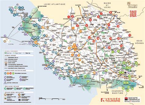 Carte touristique   Camping Jard sur Mer   Le Bosquet