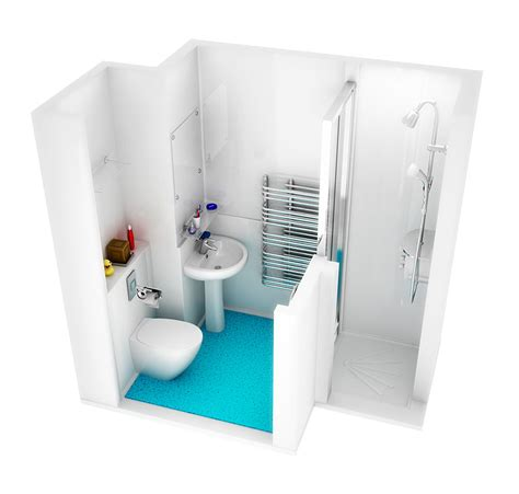 modular bathroom pods walker modular 3d visualistions freelance graphic