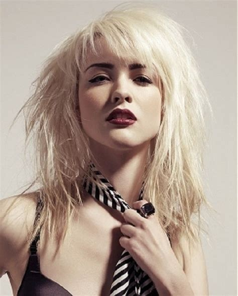 rocker shags best 25 rocker hairstyles ideas on pinterest punk