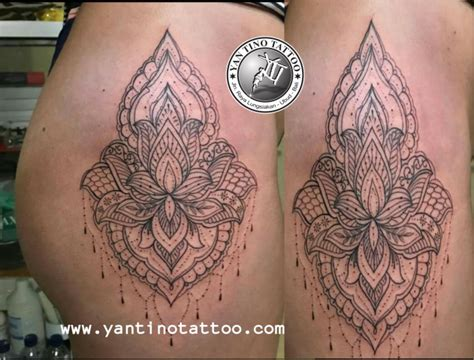 shade work no outline tattoo balinese artist ubud