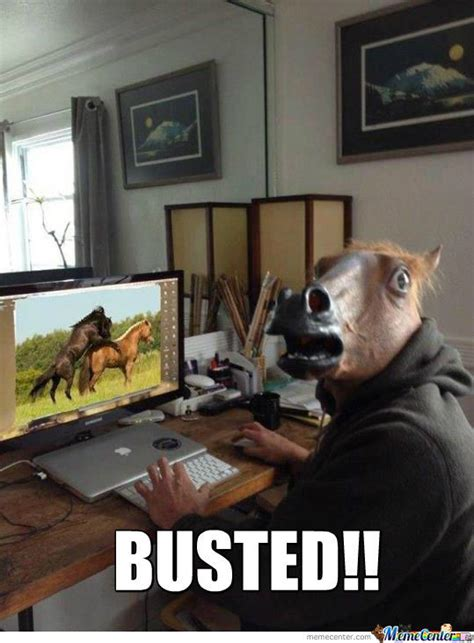 Horse Head Meme - horse mask memes image memes at relatably com