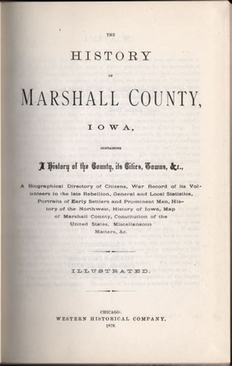 history of marshall county iowa classic reprint books history of marshall county iowa 1878 history genealogy