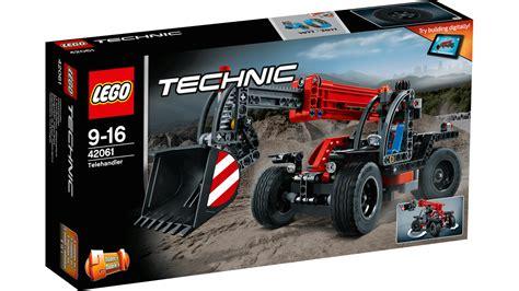 Lego 42061 Technic Telehandler 42061 le manipulateur t 233 lescopique produits technic