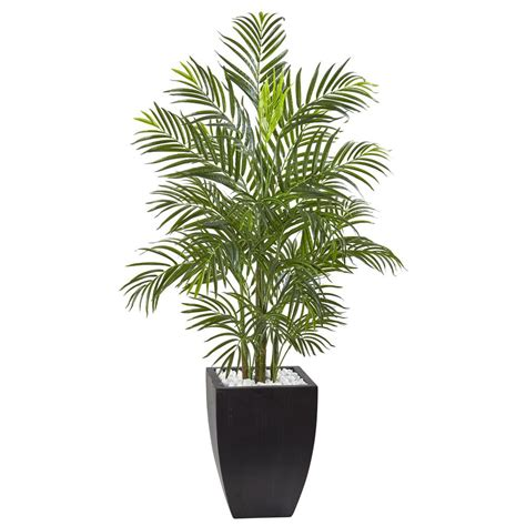 nearly natural 63 in uv resistant indoor outdoor