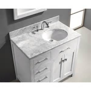 bathroom vanity tops with offset sink tomthetrader