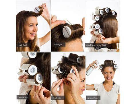 how to set hair with rollers for a pixie cut how to use hair rollers