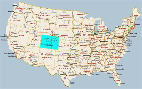 colorado in usa map colorado usa voyages cartes