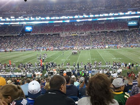 section 109 gillette stadium gillette stadium section 109 new england patriots