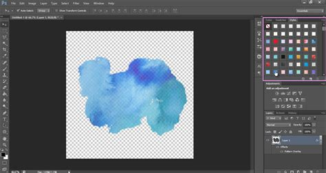 Pattern Overlay Photoshop Elements 9 | watercolor splash tutorial in photoshop dlolleyshelp