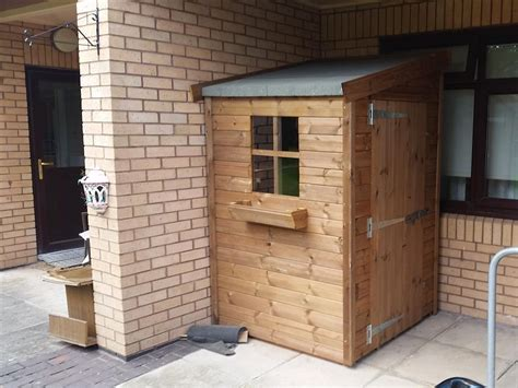 4x4 Shed by 4x4 Pent F Tanalised Security Shed Easy Shed