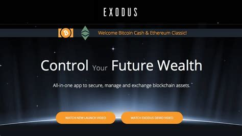 bitconnect exodus exodus cryptocurrency wallet welcome bitcoin cash and
