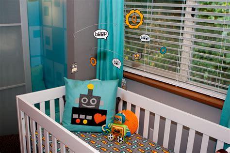 robot crib bedding robot nursery project nursery