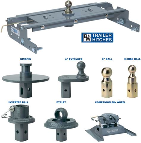 Car Hitch Types by 5th Wheel And Gooseneck Hitches Portland Nwrb