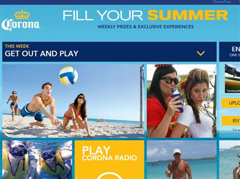 Corona Summer Sweepstakes - corona quot fill your summer quot sweepstakes